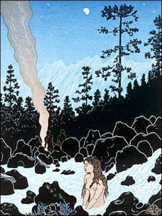 Kern River Hot Springs ~ Tom Killion