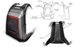 EVS Backpack on Behance