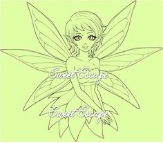 Blossom Fairy by SweetEscapeDigis on Etsy