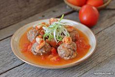 Cách làm món tôm bò viên sốt cà chua siêu ngon - http://congthucmonngon.com/173308/cach-lam-mon-tom-bo-vien-sot-ca-chua-sieu-ngon.html