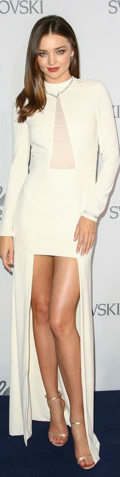 Miranda Kerr In Halston Heritage – Swarovski New Collection Launch