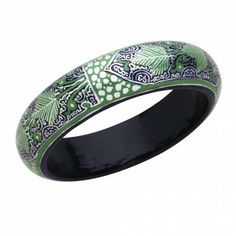 Deco Leaf Bangle - Jewelry - Products