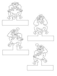 5 Little Monkeys Sitting in a Tree (Storyboard) Math