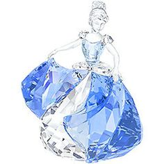 Cinderella Limited Edition 2015  Showcasing Swarovski's expert craftsmanship, this design depicts Cinderella dancing in a sparkling blue and clear crystal outfit. Only available in 2015, this Disney creation is a tribute to the new movie Cinderella and will become the eye-catcher of every collection. Decoration object. Not a toy. Not suitable for children under 15. Article no.: 5089525
