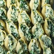 Spinach and cheese stuffed shells | Cooking Classy.