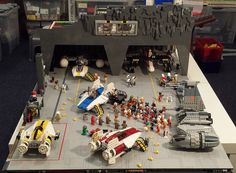 Hi guys :) Just thought I would share some photos of my WIP Rebel Alliance hangar / base. This is an ongoing project to house my starfighter squadron. The h...