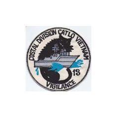 Vietnam Era (1957 - 1975) :: Cloth Insignia - US Navy & US Coast Guard -