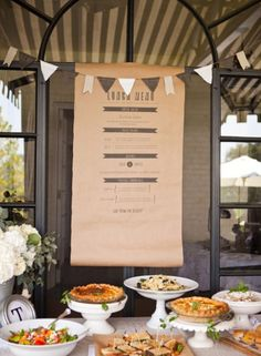 Love this menu! I've been wanting to do this at the store instead of the chalkboard!