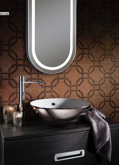 Beautiful Basins In A Glamorous Platinum Finish, Creating A Luxurious  Finishing Touch To Complement Vanity