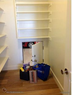 If your garage is on the same side as the kitchen add a door to unload groceries.