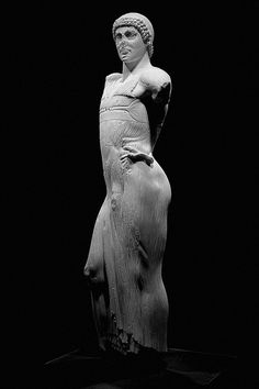 The Motya Charioteer, Greel sculpture, c.460 BC