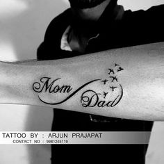 Mom Dad Tattoos, Tattoos For Guys, Draco Malfoy, Hermione, Mom And Dad, Harry Potter, Dads, Wattpad, Instagram