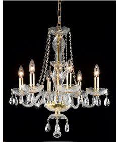Elegant Lighting 7836D20 Princeton 20 Inch Chandelier | Capitol Lighting 1-800lighting.com