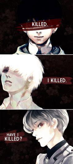 •Tokyo Ghoul• Ce manga est trop triste et génial à la fois...