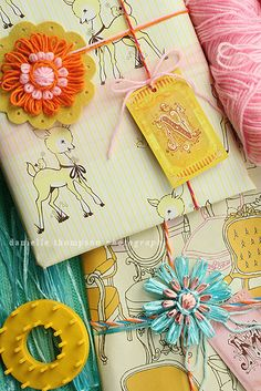 Vintage Raffia from Cathy of California as featured on Thompson Family Blog