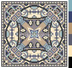 πλατεία γεωμετρικό μοτίβο για Σταυρός ουκρανική παραδοσιακά κεντήματα βελονιά, που όπως χειροποίητα και δημιουργία, pixel καλλωπιστικών διανυσματικά εικονογράφηση — Αρχείο Εικονογραφήσεων #66283367