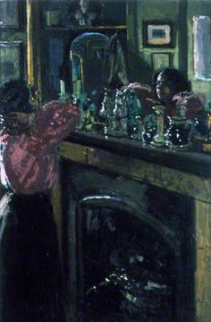 The Mantelpiece Artwork By Walter Richard Sickert Oil Painting & Art Prints On Canvas For Sale Paul Klee, Walter Sickert, Southampton City, Camden Town, Camden Group, Art Uk, Through The Looking Glass, City Art, Your Paintings