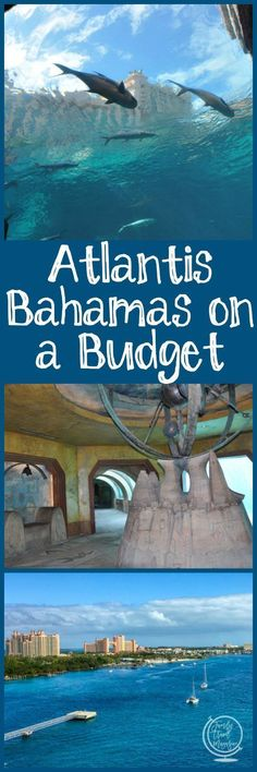 Tips and tricks for saving money while still having an amazing Atlantis Bahamas vacation while on a budget. #ad #familytravel #atlantis
