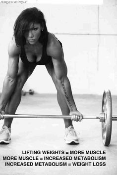 Strength training is the key to Female Fitness not to sure all I know this girl has the write moves