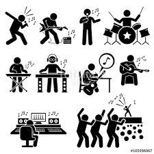 Resultado de imagen para free rock band icons vector