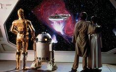 L'Empire contre-Attaque (C3-PO, R2-D2, Luke et Leia)