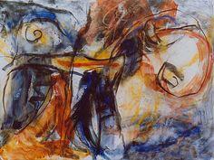 Rupestre, 1994, 195 x 260 cm
