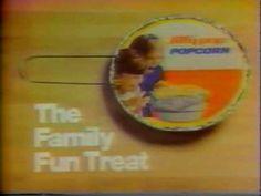 VINTAGE '70s JIFFY POP POPCORN COMMERCIAL