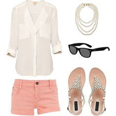 Cute summer outfit for a nice dinner!