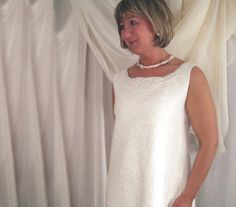 White Felted Wedding Dress от elenasfelting на Etsy