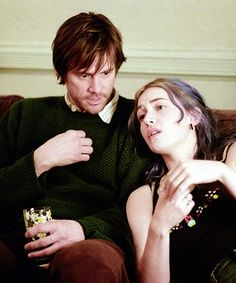 Jim Carrey and Kate Winslet in Eternal Sunshine of the Spotless Mind, 2004.