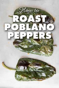 How to Roast Poblano Peppers - Learn how to roast poblano peppers using an open flame, on the grill, or in your oven. It is very easy and essential for many recipes. #Poblanos #PoblanoPeppers #RoastingPeppers #HowtoRoastPeppers via @jalapenomadness