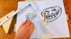 Se você é do tipo que adora desenhar e não consegue ampliar a sua obra de arte, o Manual do Mundo irá