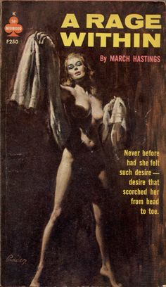 A RAGE WITHIN | pulp cover erotic sexy vintage art paperback