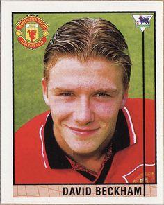 1996 Merlin - David Beckham - Manchester United Manchester United City, David Beckham Manchester United, Newcastle United Fc, Rugby Players, Team Player, Sharon Jones, Aston Villa Fc, Fc 1, Football Stickers