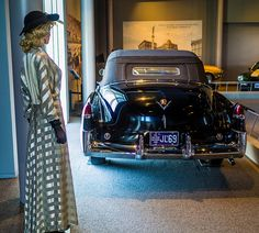 Admiring the 1949 Cadillac Convertible | by brooklandsspeedway