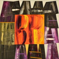 João Vieira Untitled 149)07 Painting x Canvas 100 cm x 100 cm  #JoãoVieira #Artist #Art #Oil #Painting #Color #Portugal #Gallery #SaoMamede #Artwork #Lisbon