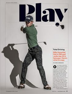 Golf Digest - Rami Moghadam / Art Direction & Design