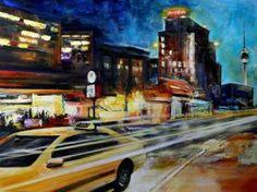 "Saatchi Art Artist Arno Bruse; Painting, ""Nightshift"" #http://www.saatchiart.com/smart.art"
