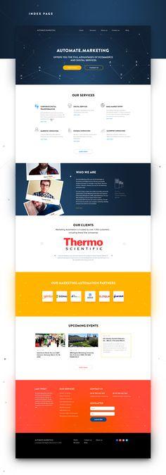 Automate marketing services on Behance