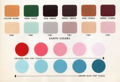 7 Steps to Create Your Whole House Color Palette   Worksheet. Blue tint great for accents/bedroom/bathroom/spare room/laundry room color