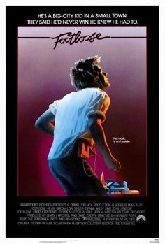 Footloose - Another I will never tire of.  Great memories. Wonderful story. Love this cover art and Kevin Bacon dancing...