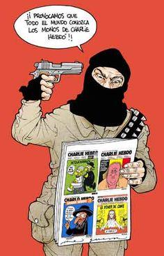 Nadie sabe para quién trabaja. #CharlieHebdo