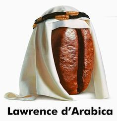 Lawrence d'Arabica: part of the playful advertising campaign from supermarket chain Esselunga Coffee Club, Coffee Art, Coffee Time, Ads Creative, Creative Advertising, Italian Memes, Brain Art, Coffee World, Fruits Images
