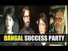 DANGAL success party with cast and crew at Aamir Khan's Panchgani bungalow. Aamir Khan, Gossip, Bungalow, Interview, It Cast, Success, Music, Party, Youtube