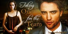 Taking one for the Team   By: Sazzledazzled Bella is madly in love with her boss Edward Cullen – little does she know that he feels the same. When a lucrative contract which  he desperately needs lands in his lap – Just how far will she go to  make sure he secures it? *Fandom4Tsunami contribution*   https://www.fanfiction.net/s/7129171/1/Taking-one-for-the-Team