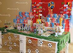 artesanias, souvenir, eventos personalizados, minimandy Soccer Birthday Parties, Birthday Cup, Soccer Party, Birthday Boys, Casino Party, Casino Theme, Casino Costumes, Casino Cakes, Themed Cupcakes