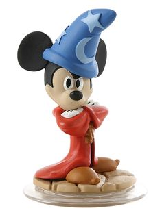 Mickey Mouse as Sorcerer's Apprentice 'Disney Infinity' figurine from our Other collection Disney Toys, Disney Pixar, Disney Characters, Disney Classics Collection, Disney Traditions, Cool Cartoons, Cartoon Fun, Disney Infinity, Disney Junior