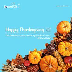 Korean Air Happy Thanksgiving #KoreanAir