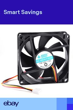 3Pins Cooling Fan 12V PC Computer Case Fan Quiet 80mm CPU Host New Practical