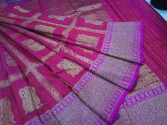 Pure dupion sarees Bridal Sarees, Indian Sarees, Pure Products, Elegant, Indian Saris, Classy, Chic